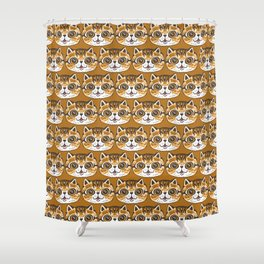 Baby Cat Shower Curtain