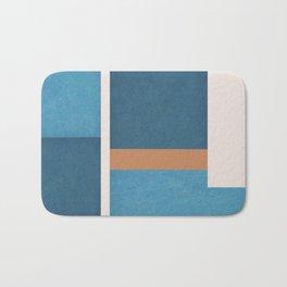 Intercepts, Geometric Forms Shapes Bath Mat