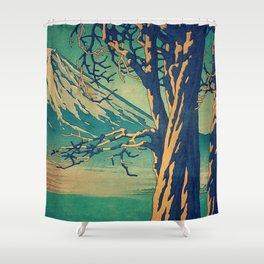 Late Hues at Hinsei Shower Curtain