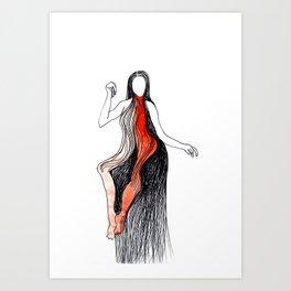 character VII Art Print
