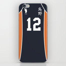 Yamaguchi's Jersey iPhone Skin