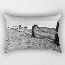 North Sea views Rectangular Pillow