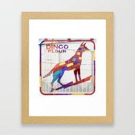 Dingo Flour Framed Art Print