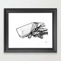 Machine object III Framed Art Print