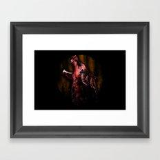 midnight hunter  Framed Art Print