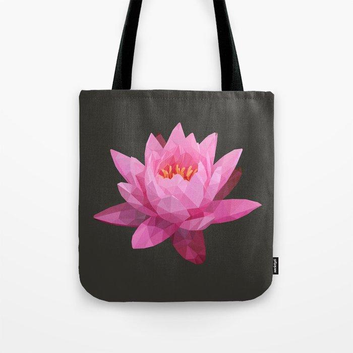 Pink Lotus Flower  Tote Bag