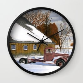 The Old Jalopy Wall Clock