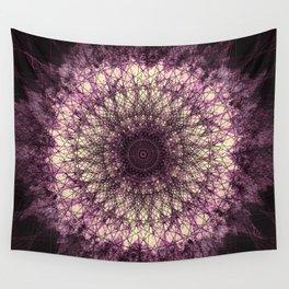Purple Mandala Wall Tapestry