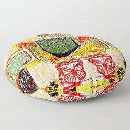 Ethnic art Floor Pillow