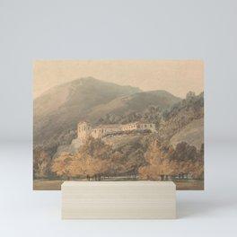 Santa Lucia, A Convent near Caserta (1795) by J.M.W. Turner Mini Art Print