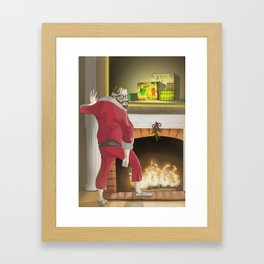 No.4 Christmas Series 1 - The Mid - Late Years Framed Art Print