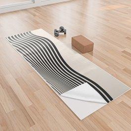 Abstract 18 Yoga Towel