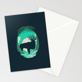 God Of The Forest Stationery Cards