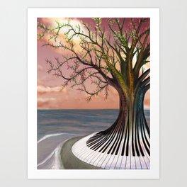 Key's Rythym - 2009 Art Print