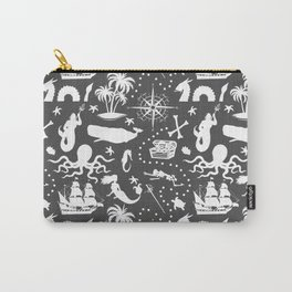 High Seas Adventure // Charcoal Carry-All Pouch