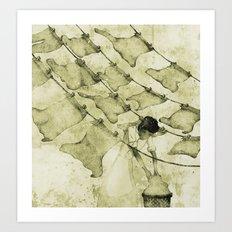 Salt of the earth Art Print