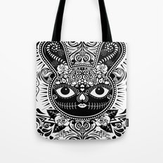 Day Of The Dead Bunny Celebration Tote Bag