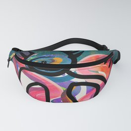 The Cyclops Graffiti in the Cosmos by Emmanuel Signorino  Fanny Pack