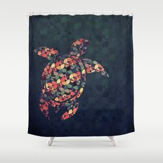 The Pattern Tortoise Shower Curtain
