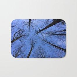 Winter Trees Bath Mat