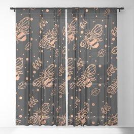 oh honey Sheer Curtain
