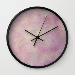 A little touch of orchid Wall Clock