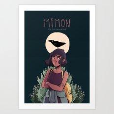 Mimon Poster Art Print