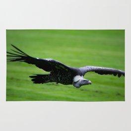 Great vulture in flight Rug