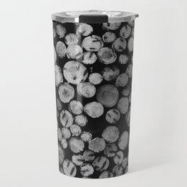 Pile of wood Travel Mug