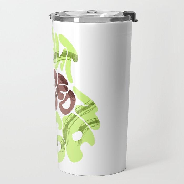 Avacado. Vegan plants base Travel Mug