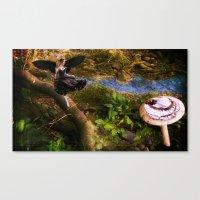 fairies Canvas Prints featuring Fairies by OkidAisFeraL