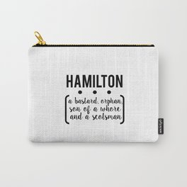 a.ham // white Carry-All Pouch