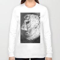 sleep Long Sleeve T-shirts featuring Sleep by viridian expanse