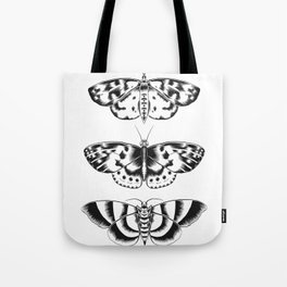 Moth Tryptic Tote Bag