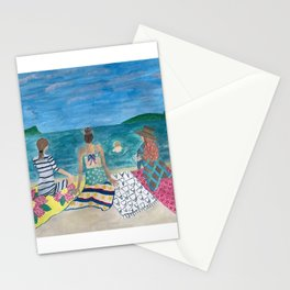 Just The Sea And Our Friendship Stationery Cards