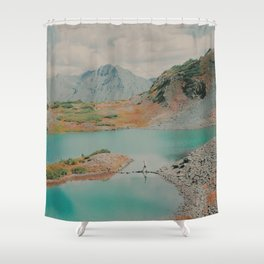 """""""Untitled"""" Shower Curtain"""