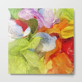 Abstract Floral 1861 Metal Print