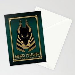Anubis Mortuary Stationery Cards