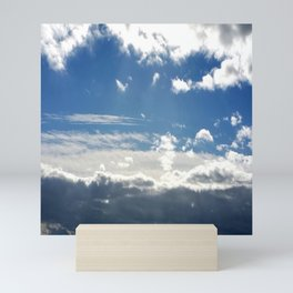 Windy Day Sky Mini Art Print