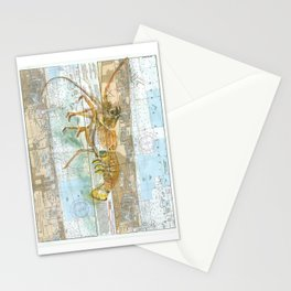 Red Lobster Stationery Cards