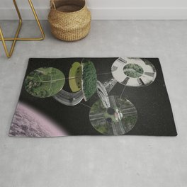 Chymical Station: Escape into Space Rug