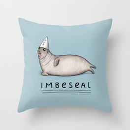 Imbeseal Throw Pillow