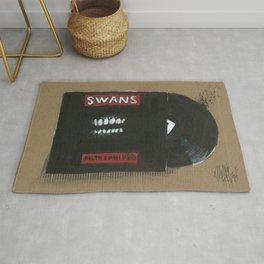 Diddie Doodle Swans Filth Rug