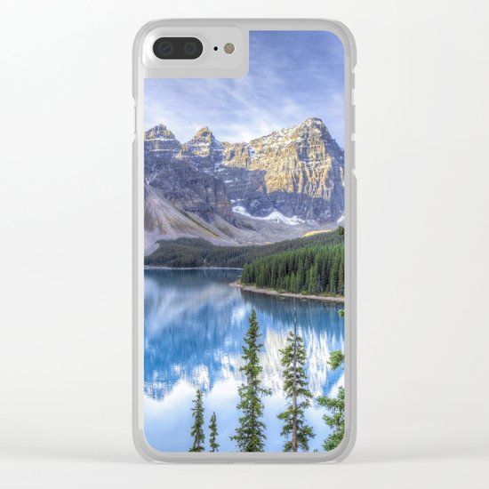 Moraine Lake #landscape #photography Clear iPhone Case