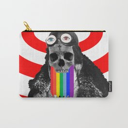 Rainbow Skull Pilot Carry-All Pouch