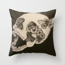 Decompose Throw Pillow