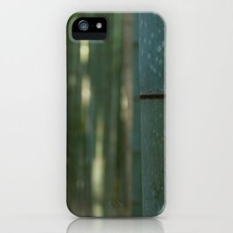 Arashiyama Bamboo iPhone Case