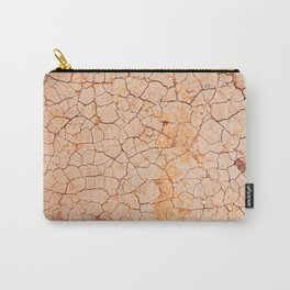Cracked dry land pattern Carry-All Pouch