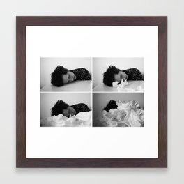 break up scene Framed Art Print