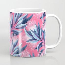 Pohutukawa - Pink / White Coffee Mug